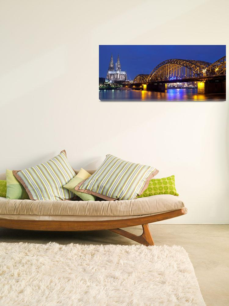 """""""cologne cathedral panorama""""  (2009) by JohnHudsonPhoto"""
