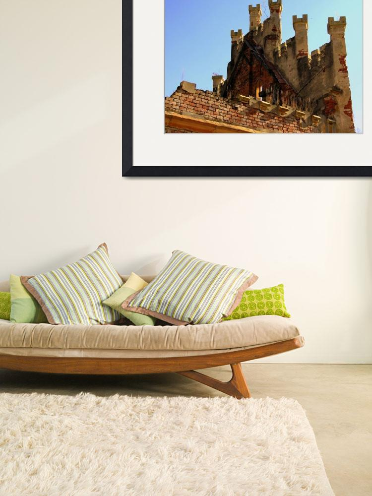 """""""Top of the Main Hall of Castle Hauenstejn&quot  by Artsart"""