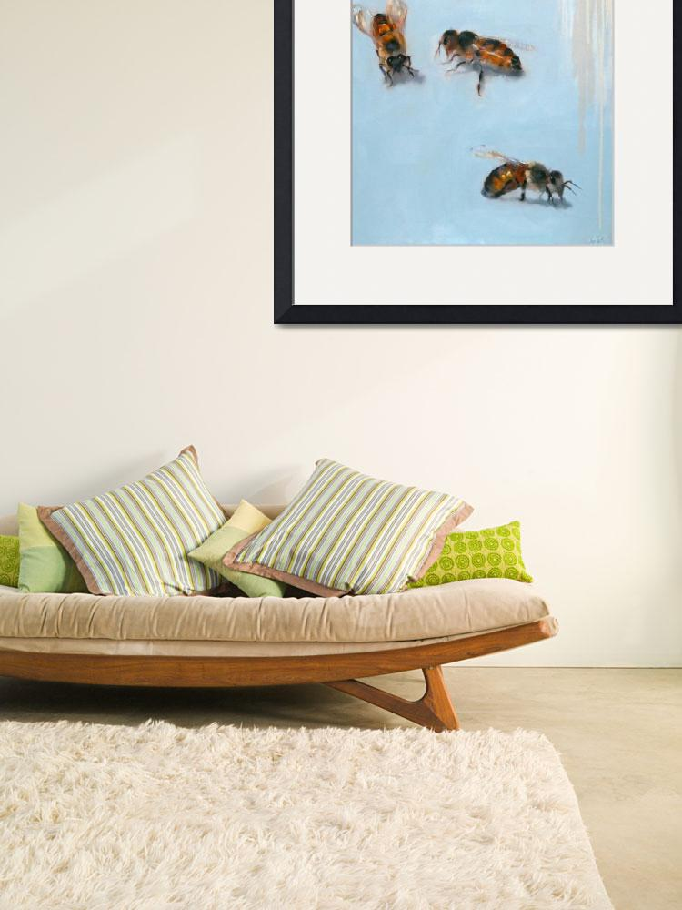 """""""Bees&quot  (2011) by AnnTuck"""
