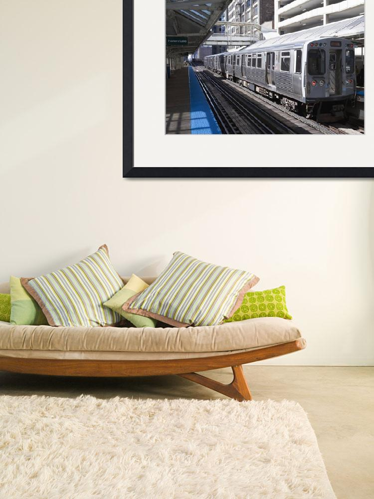 """""""Chicago L Station&quot  (2007) by stevegeer"""
