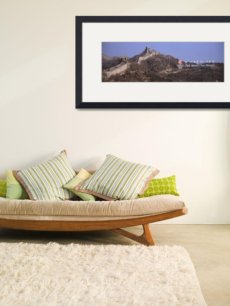 """""""Fortified wall passing through a mountain range&quot  by Panoramic_Images"""