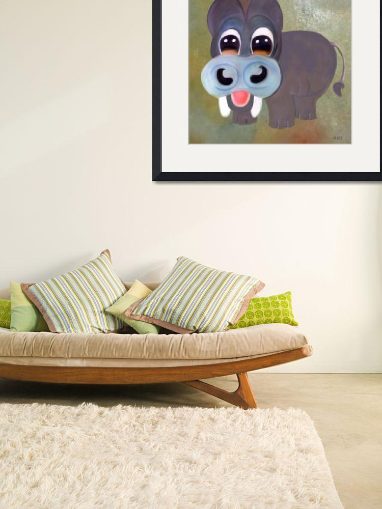 """""""Hippo&quot  (2011) by Shearart"""