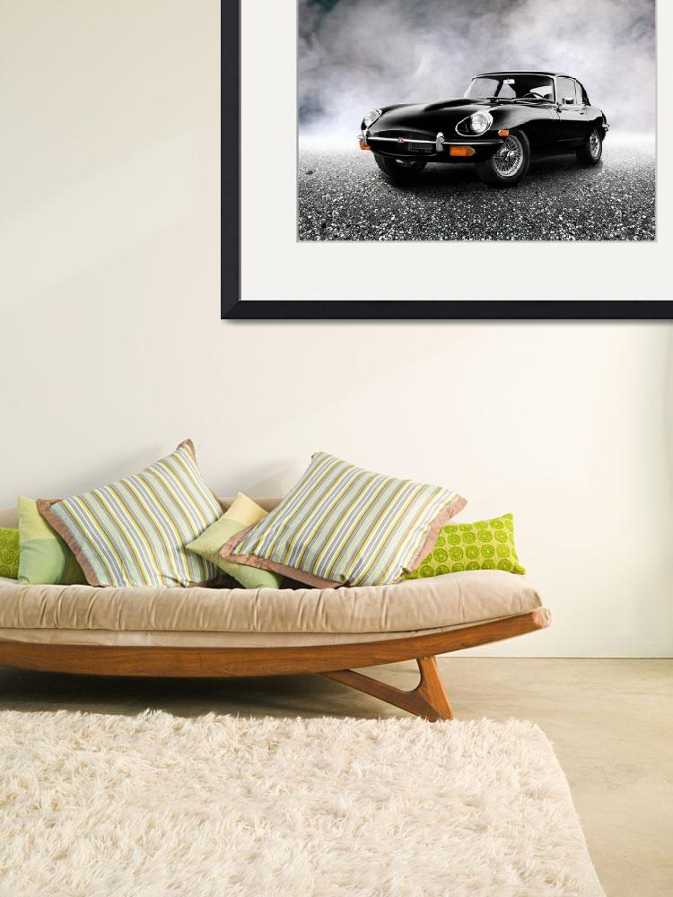 """""""The 1968 E-Type&quot  (2011) by mark-rogan"""