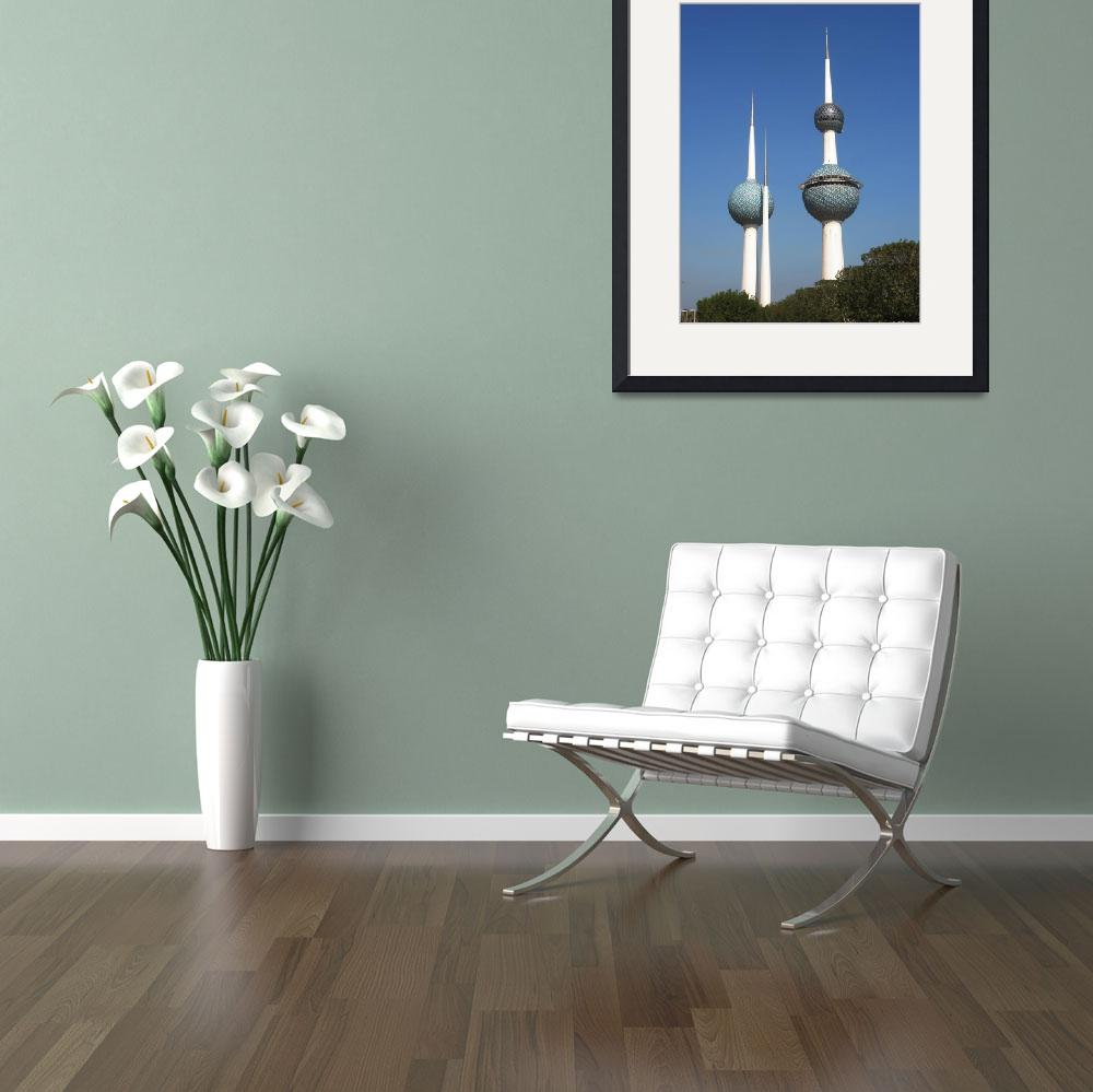 """""""Kuwait Towers""""  (2008) by Just4Fun"""