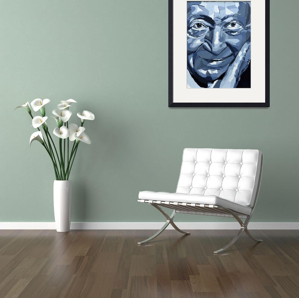 """""""WP-005 The Famous Face&quot  (2012) by cneartgallery"""