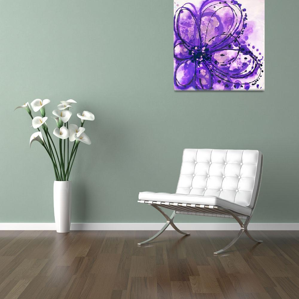 """Purple Splash""  by Aneri"