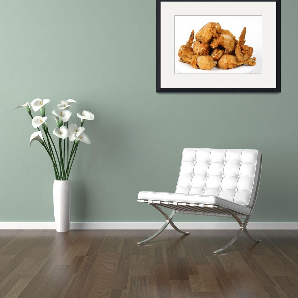 """Crispy Fried Chicken Fine Art Food Photography&quot  (2008) by lightningman"