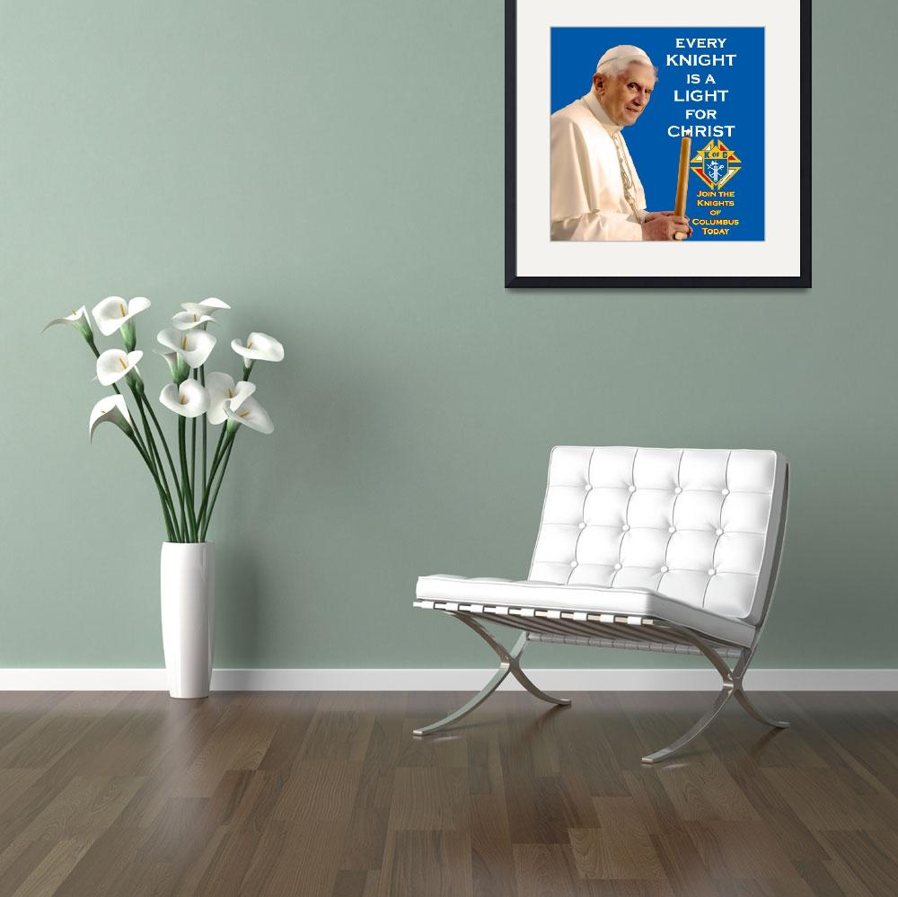 """""""Every Knight is a Light for Christ&quot  (2008) by kofc"""