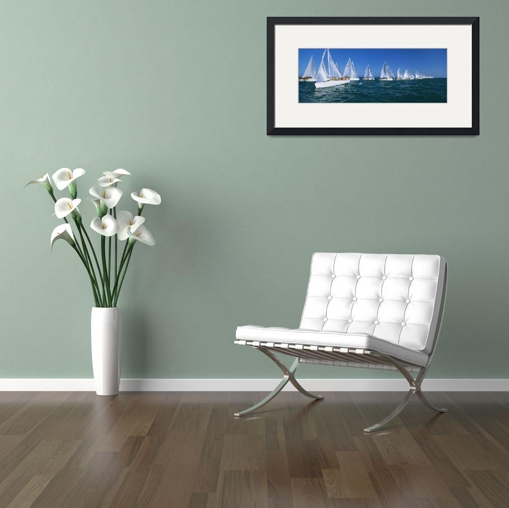 """""""Yacht Race Key West FL&quot  by Panoramic_Images"""