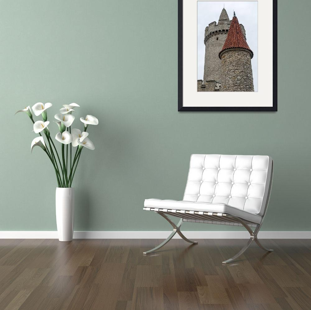 """""""Castle tower.&quot  by FernandoBarozza"""