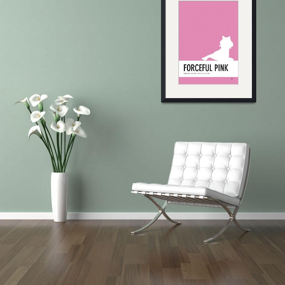 """""""No26 My Minimal Color Code poster Piggy&quot  by Chungkong"""