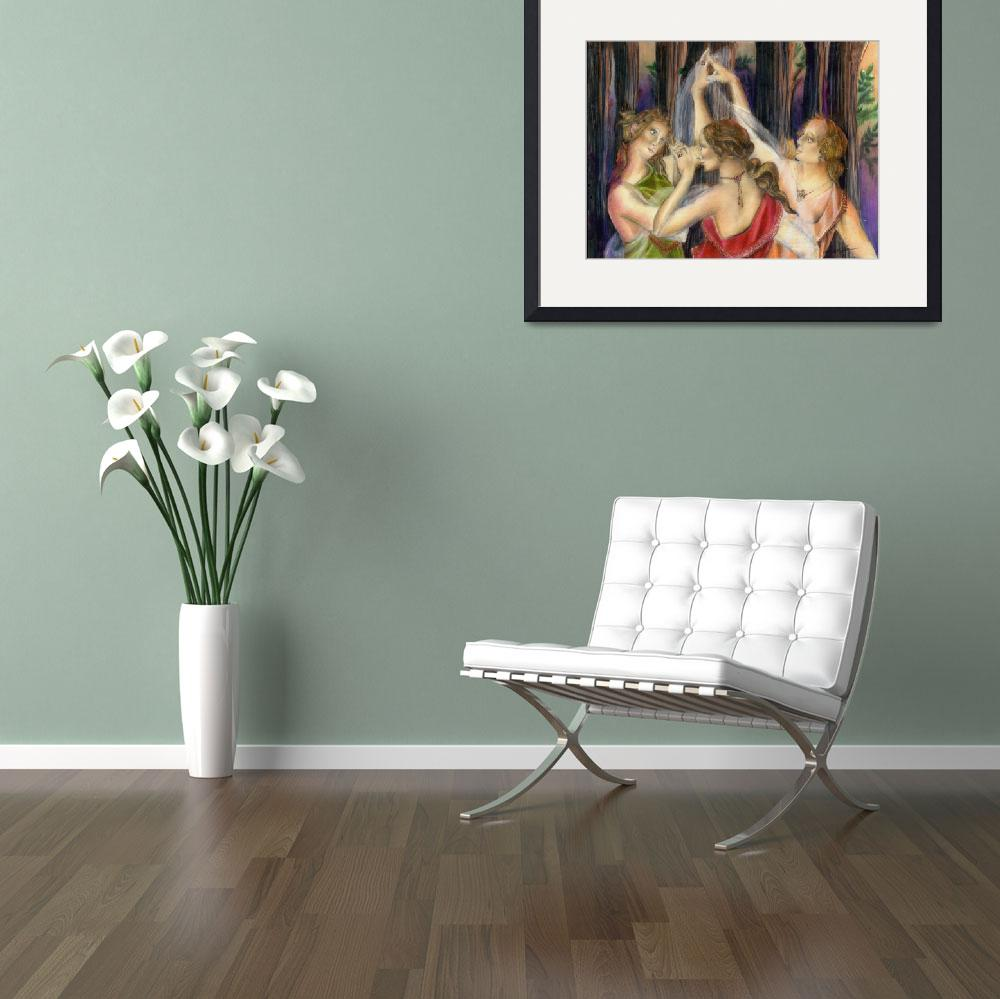 """""""The Three Graces""""  (2011) by AlmaLee"""