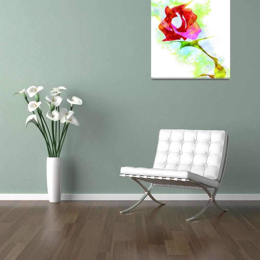 """""""A ROSE FOR YOU&quot  (2008) by Jvelasco"""