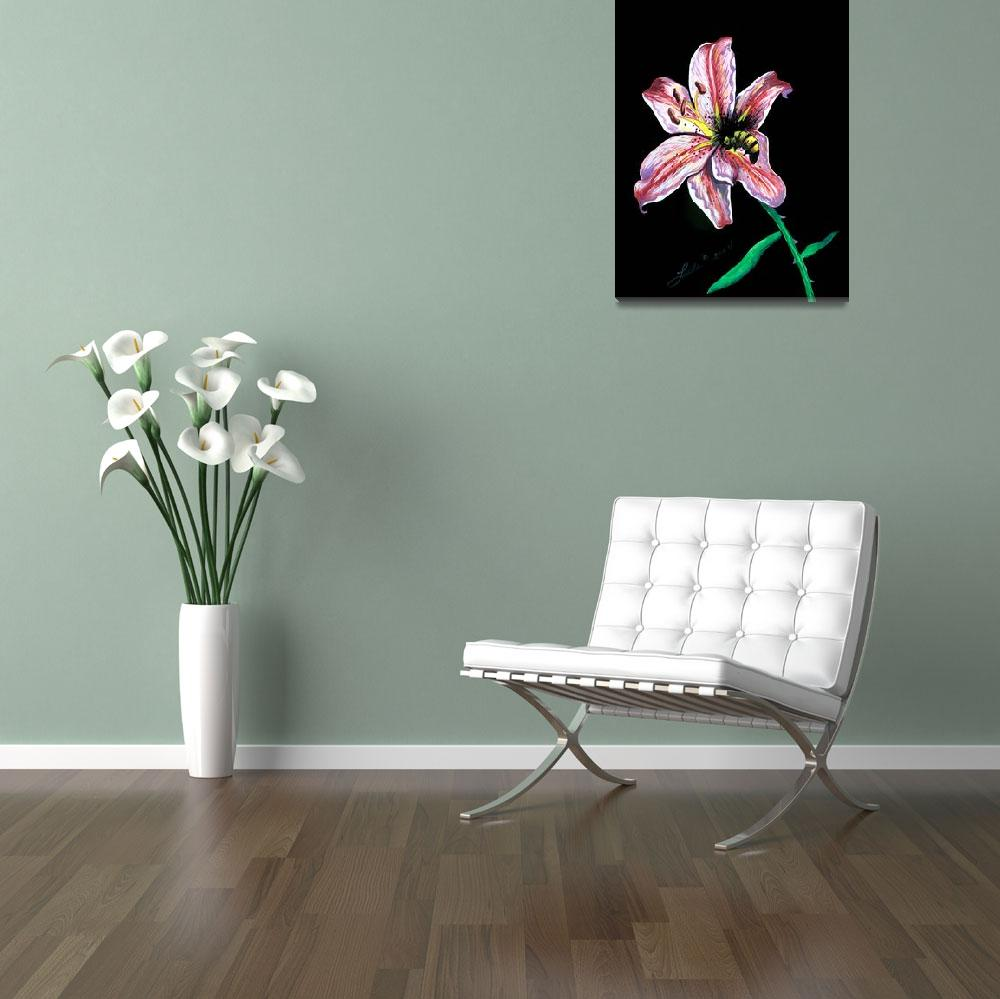 """""""Bee On A Lily""""  (2004) by HawaiiArtMusic"""