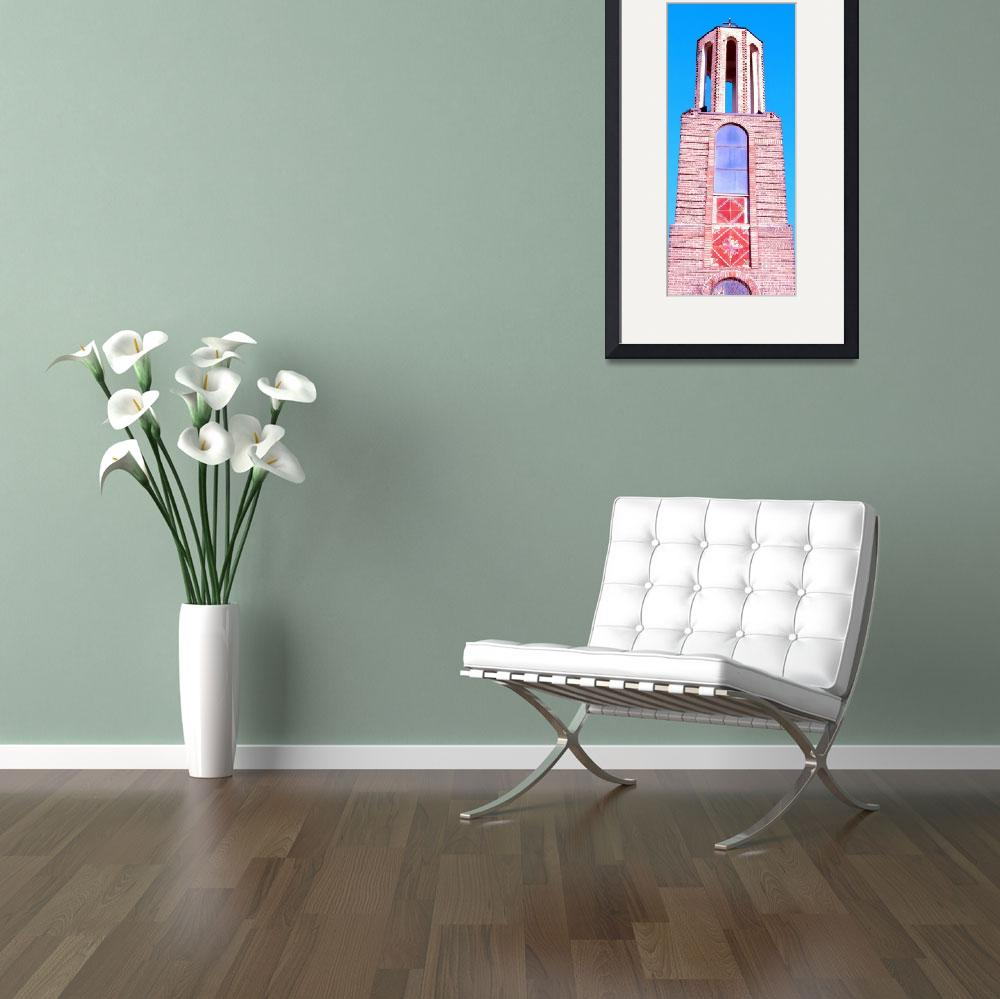 """""""Church Tower&quot  (2012) by AprilO"""