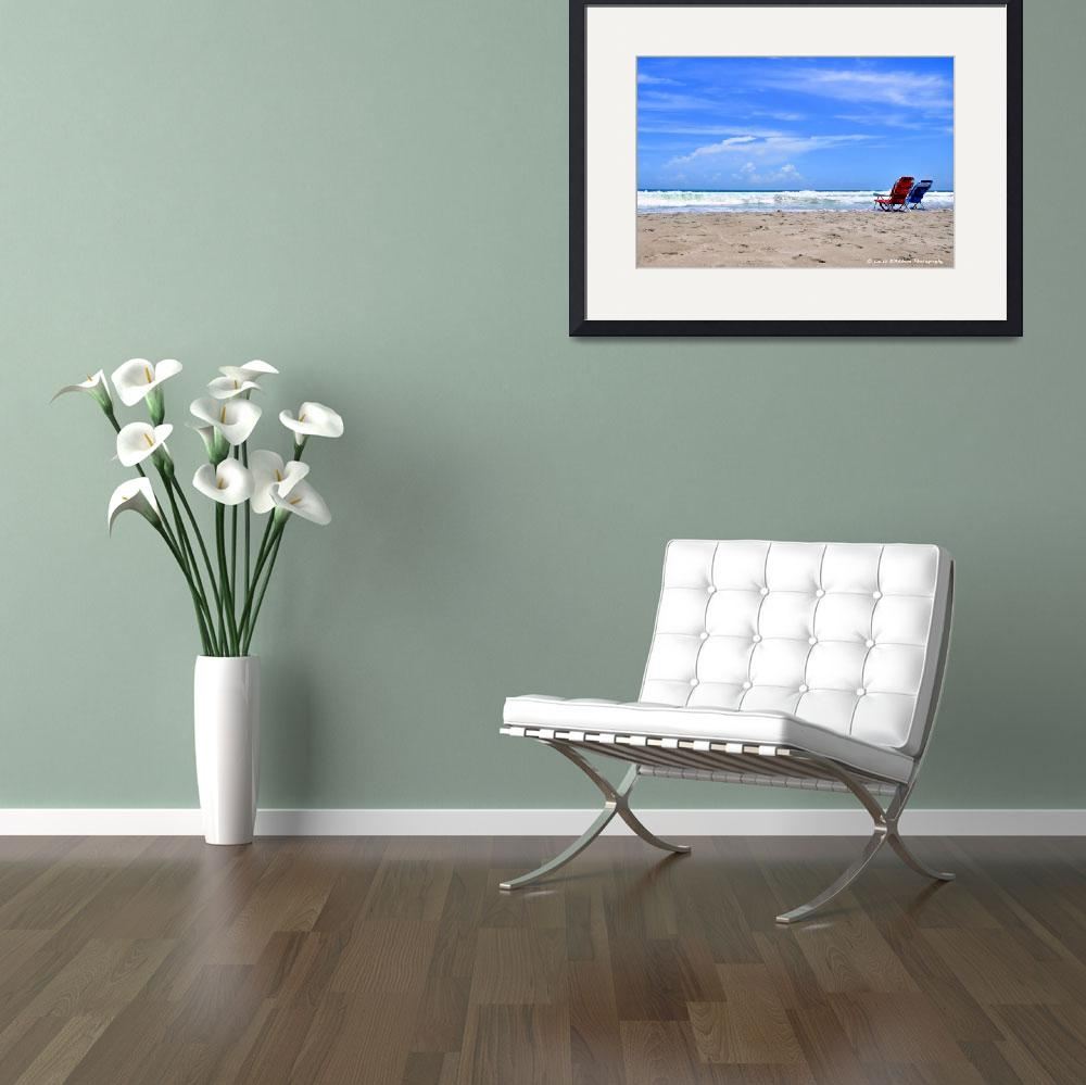 """""""Beautiful Beach Day&quot  (2013) by LauraD"""