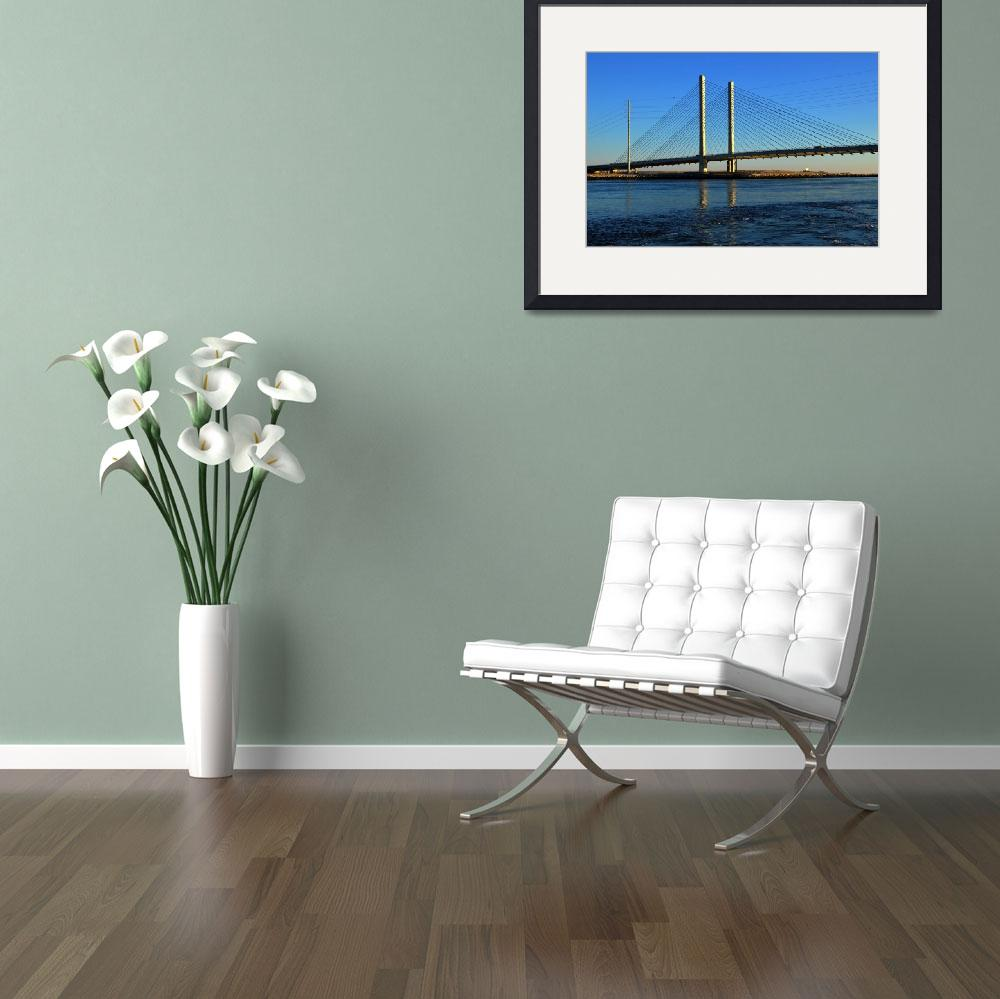 """Indian River Inlet Bridge in the Morning Light&quot  by travel"