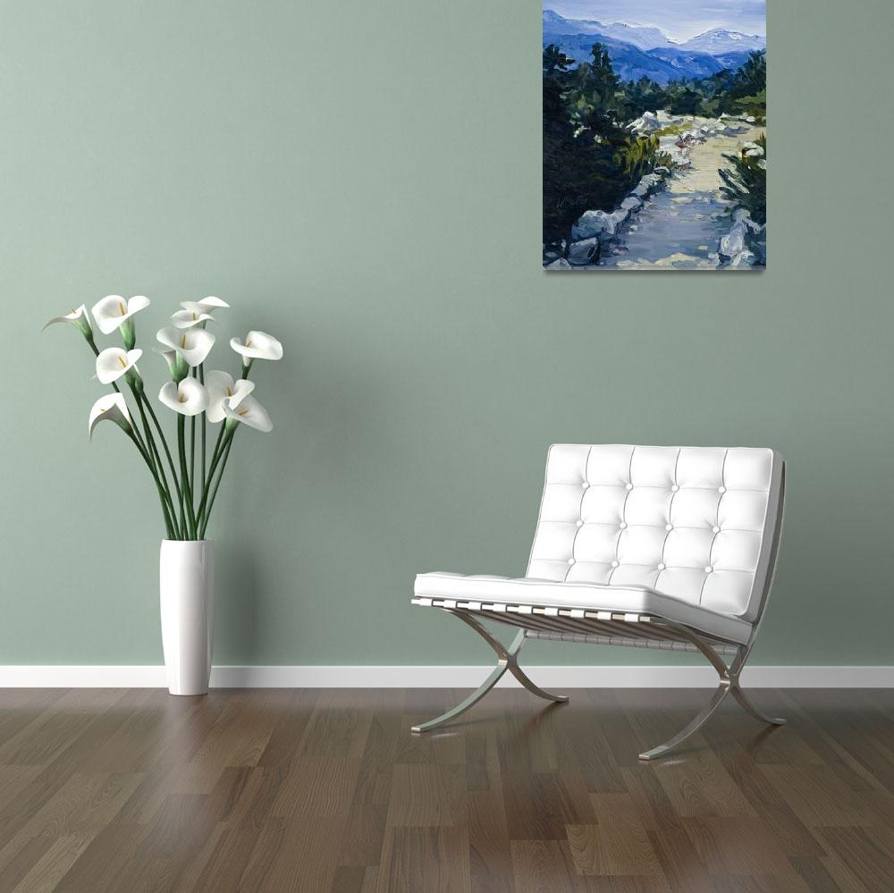 """""""Trail to Whistler Mountain, British Columbia Print&quot  (2007) by KeatingArt"""