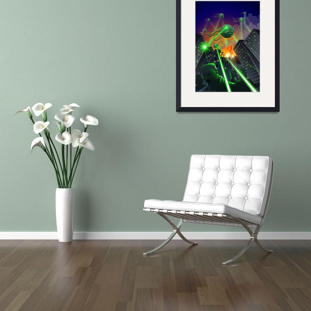 """""""Martian Invasion&quot  (2011) by extrafeet"""