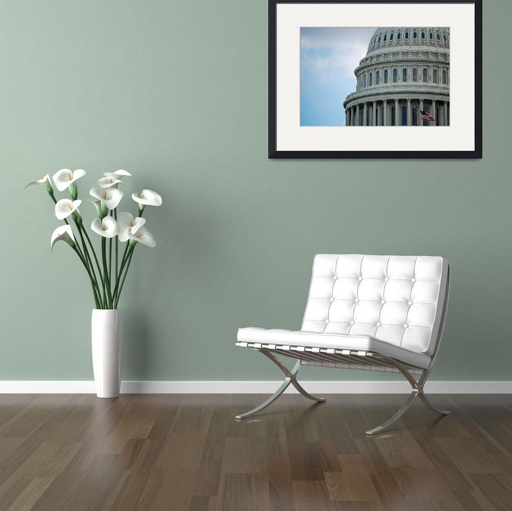 """""""US Capitol Dome&quot  by kimberlyfaye"""