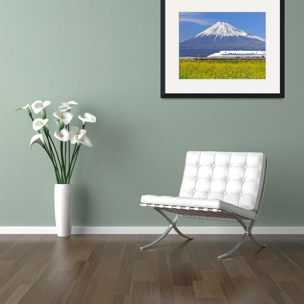 """Japan Photo Framed Print""  by buddakats1"