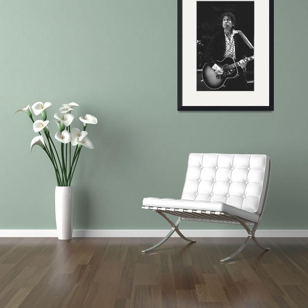 """""""Songwriter Bob Dylan&quot  by FrontRowPhotographs"""