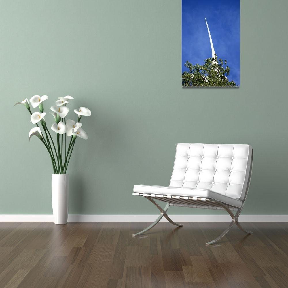 """""""Windmill in hiding 3&quot  (2009) by EHAM-spotter"""