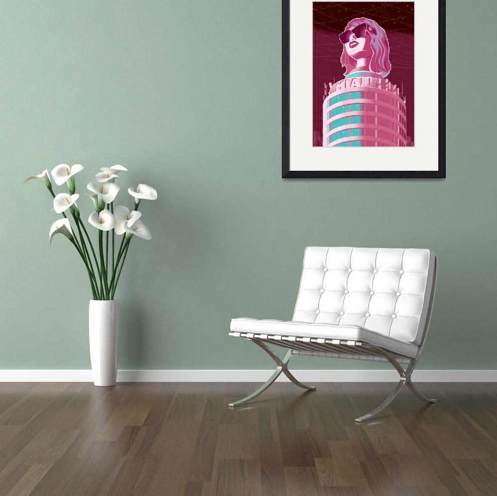 """""""MIA tower&quot  (2013) by badvamps"""