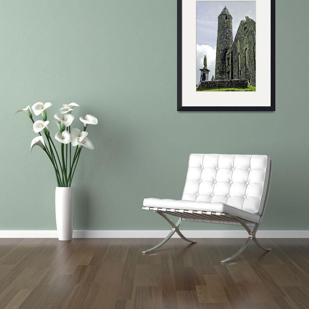 """""""Tower at the Rock of Cashel&quot  (2007) by ThomasDeanImages"""