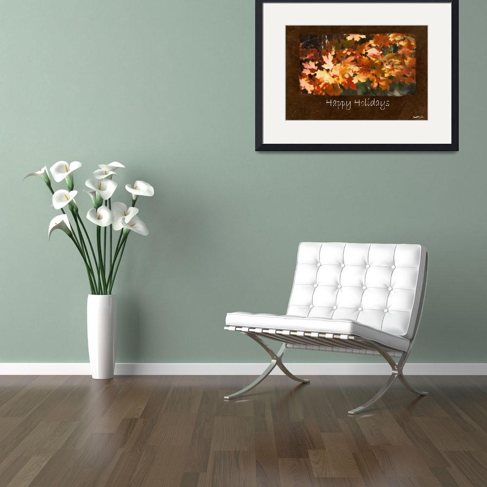 """""""Jean Autumn Leaves 10 Happy Holidays""""  by ChristopherInMexico"""