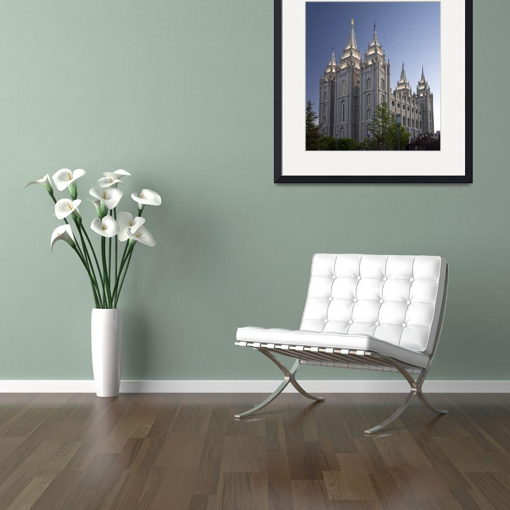 """Salt Lake City LDS Temple&quot  (2011) by MyGalleryPhoto"