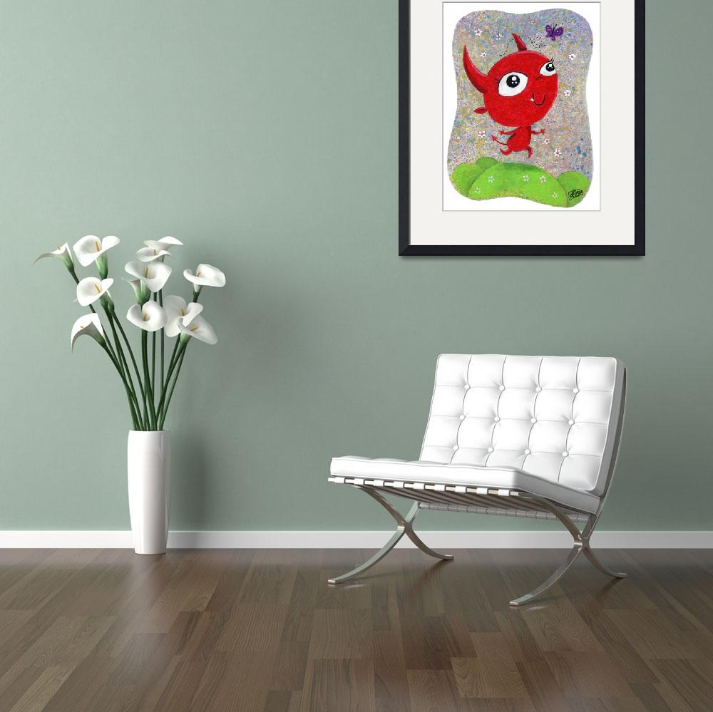 """""""The frolicking devil&quot  (2008) by macula"""