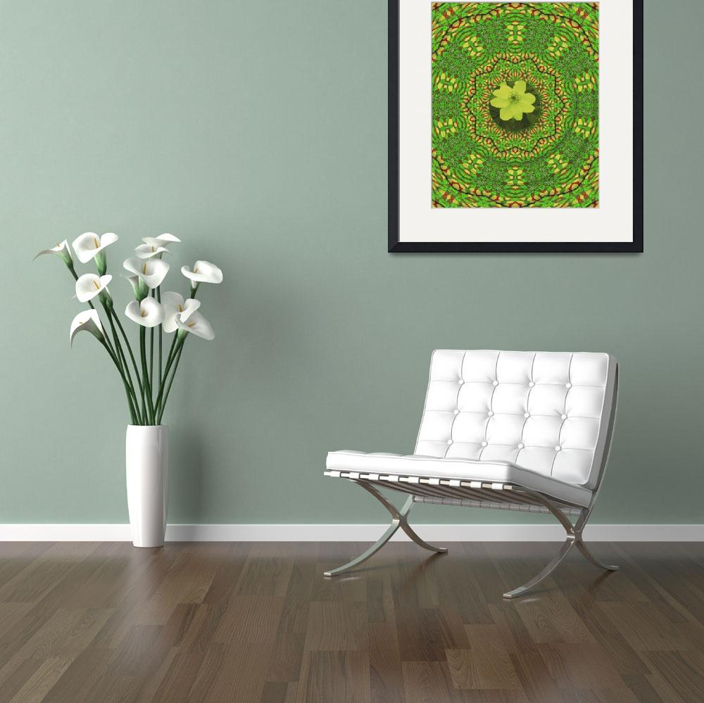 """""""white spring flower in the green&quot  (2009) by PepitaSelles"""