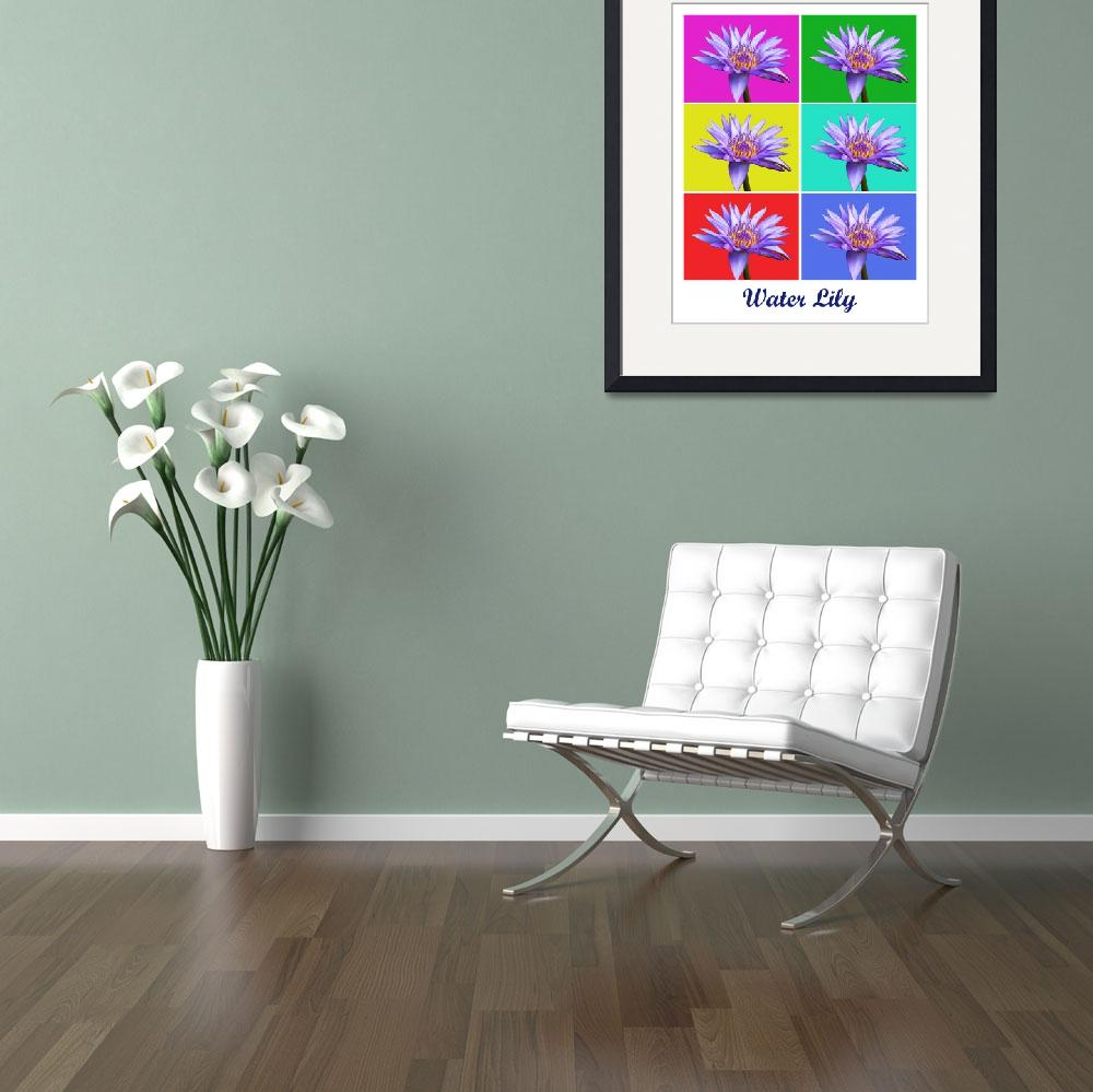 """""""Water Lily x6 (Titled)&quot  (2009) by FordLou"""