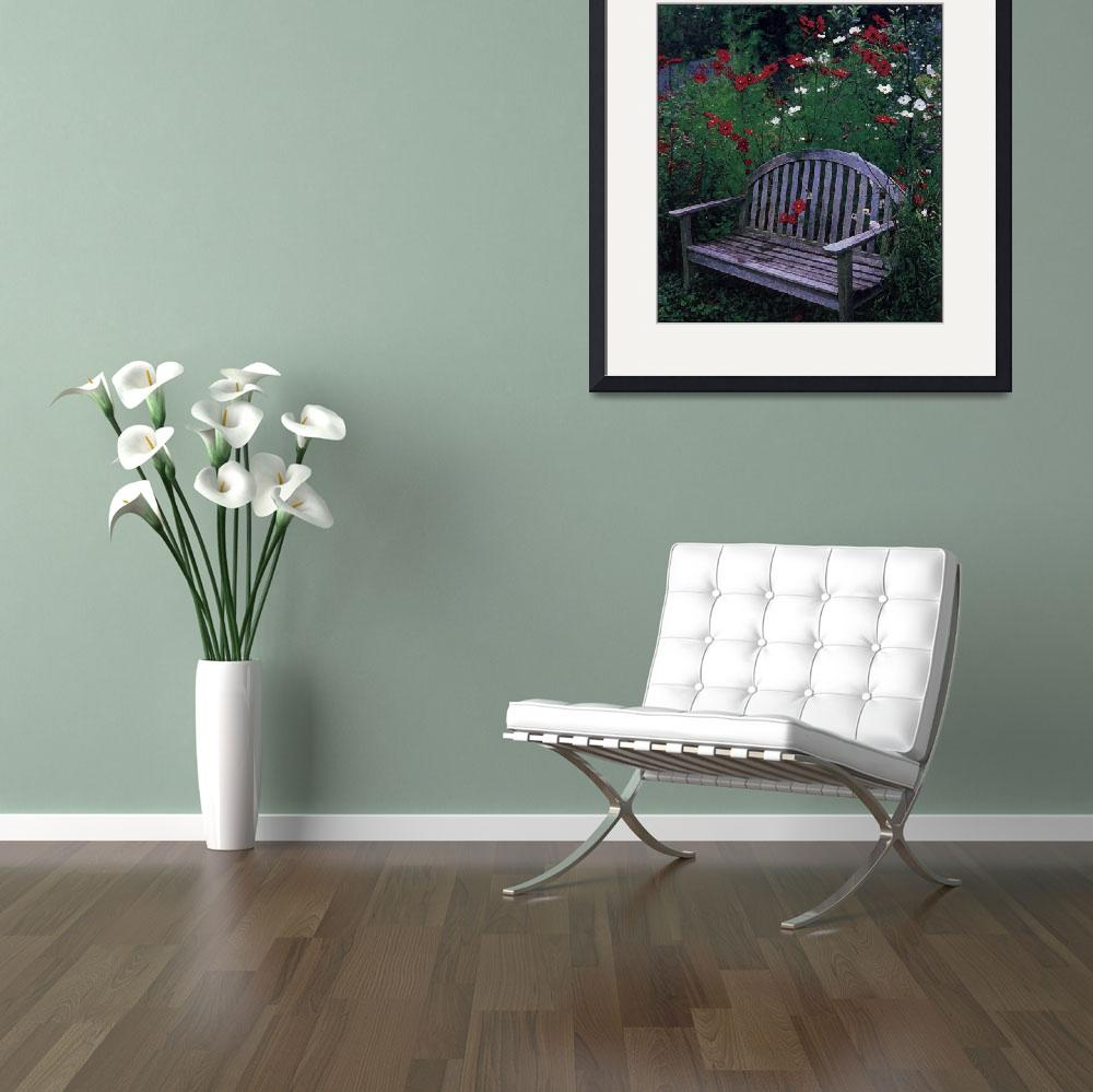 """""""The Garden Seat""""  (2006) by look2day"""