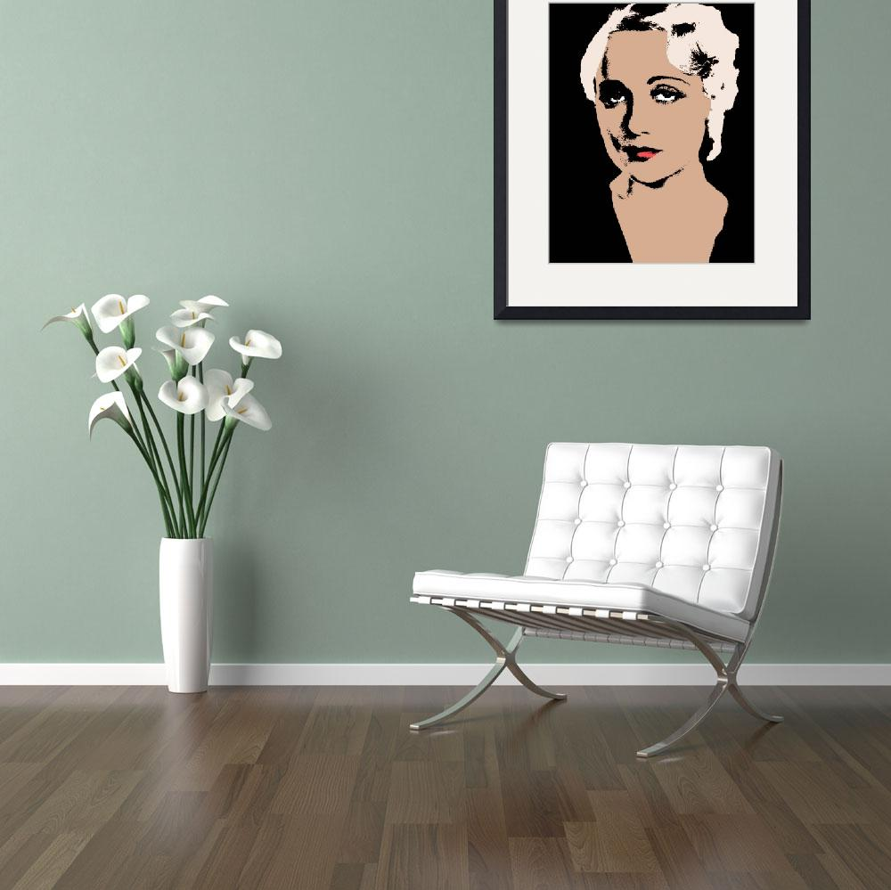 """""""CAROLE LOMBARD-2&quot  (2016) by thegriffinpassant"""