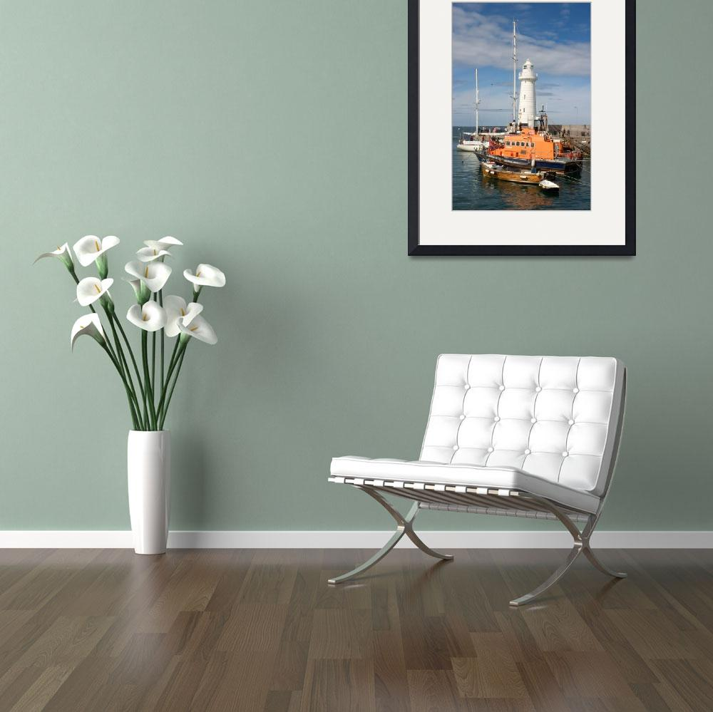 """""""Donaghadee Harbour&quot  by rhmayne"""