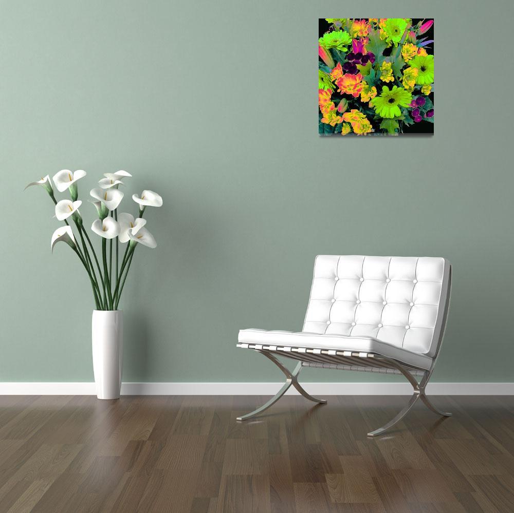 """gerbera bouquet""  (2014) by rubyflamingo"
