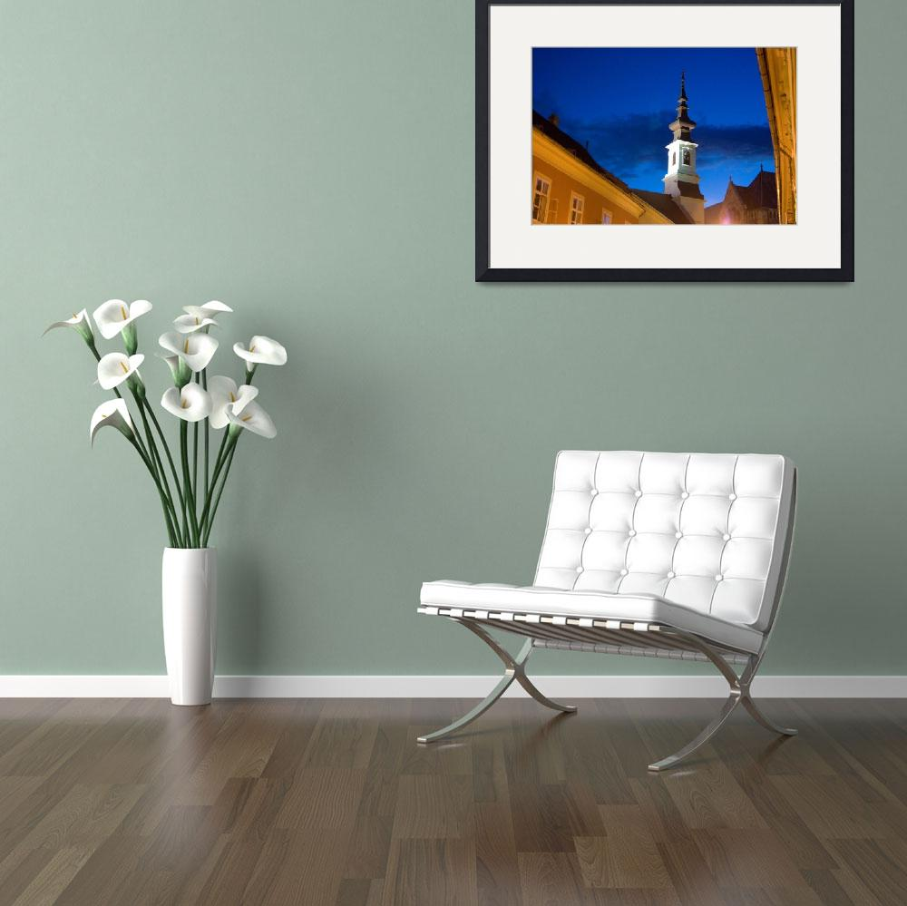 """""""Bell Tower Budapest&quot  (2008) by njthomas"""