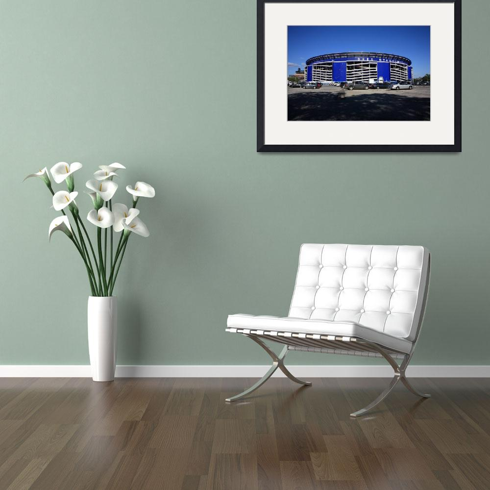 """""""Shea Stadium - New York Mets""""  (2008) by Ffooter"""
