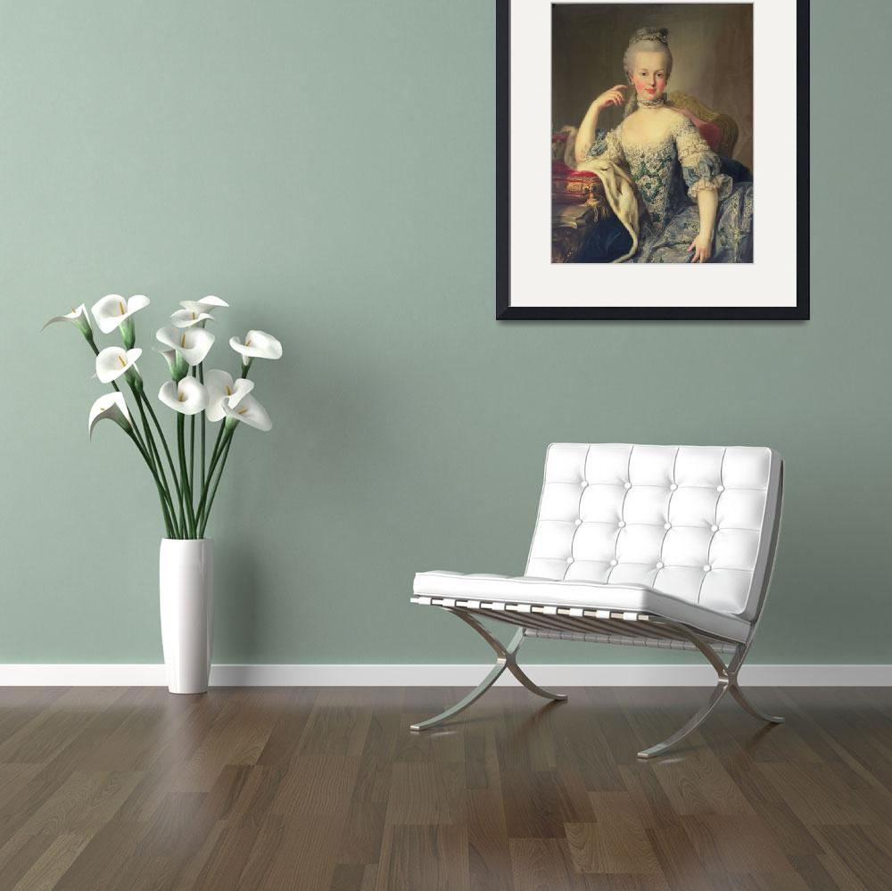 """""""Archduchess Marie Antoinette Habsburg-Lotharingen&quot  by fineartmasters"""