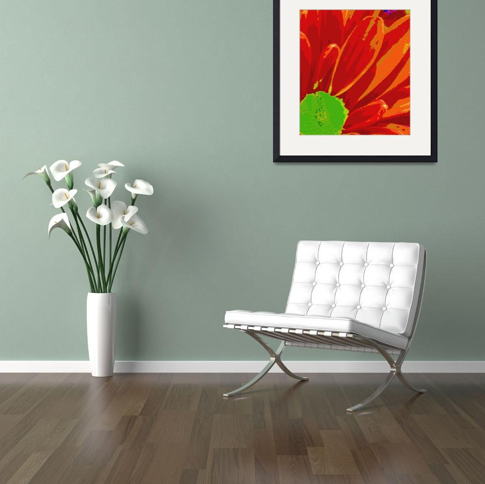 """""""Red and Orange Petals&quot  by psovart"""