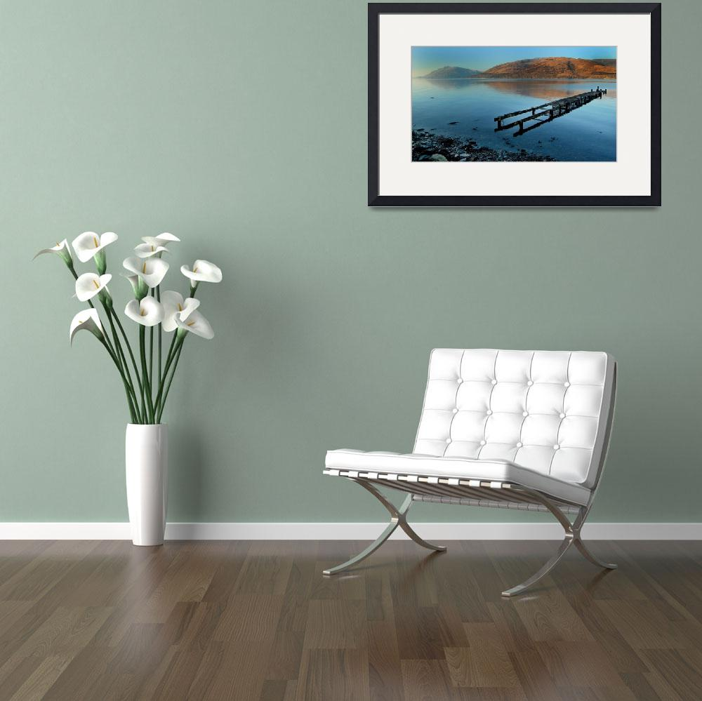 """""""Fort William and Loch Linnhe land and sea scape&quot  by JohnWardell"""