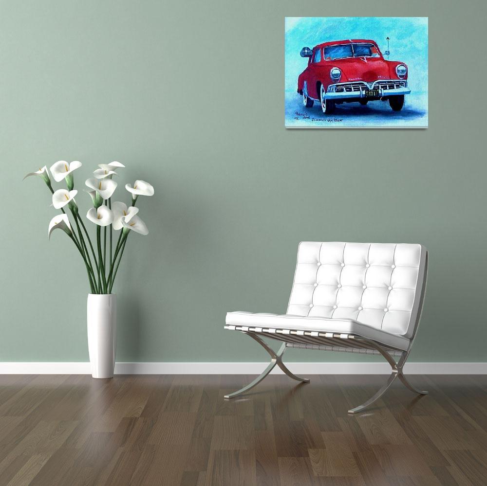 """Classic Car,52 Studebaker""  (2008) by Texaslady"