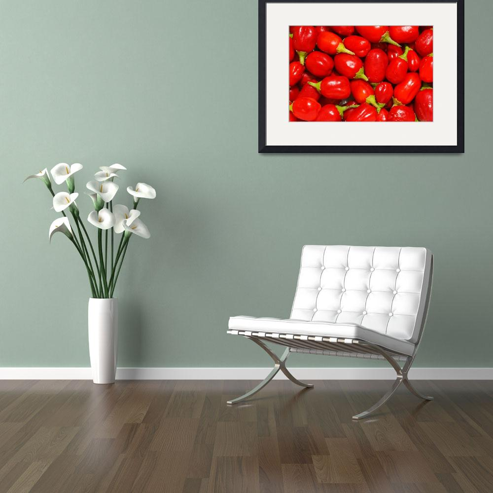 """""""Red peppers&quot  (2012) by gavila"""