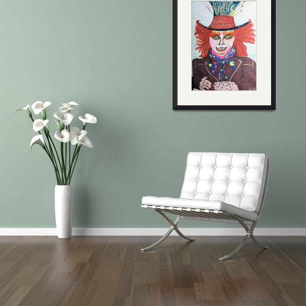 """Mad Hatter&quot  (2010) by SunfluerDesigns"
