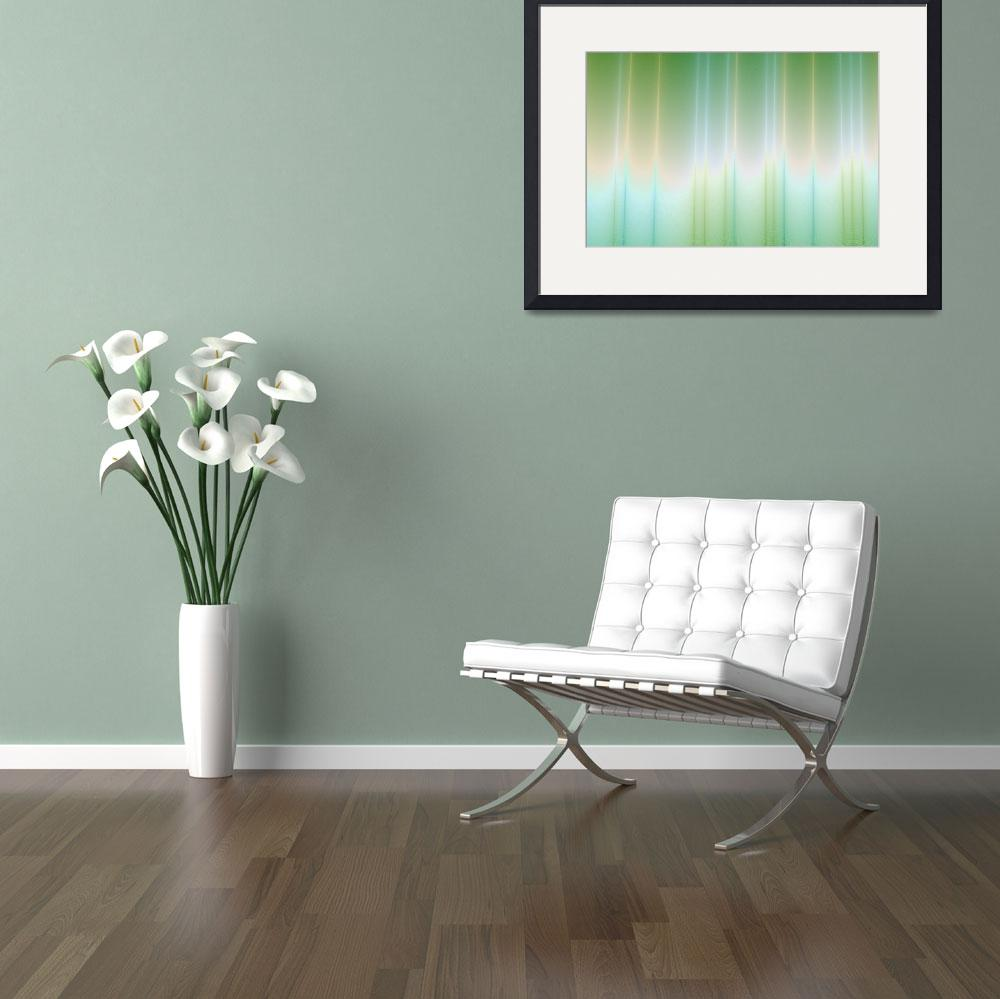 """""""Blue to Green&quot  (2012) by Objowl"""