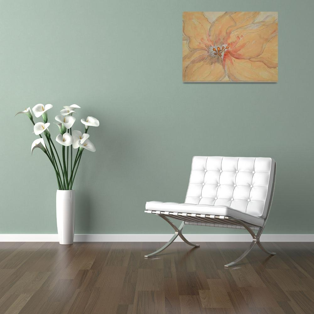 """""""Washed Lily&quot  (2009) by LindaArt"""