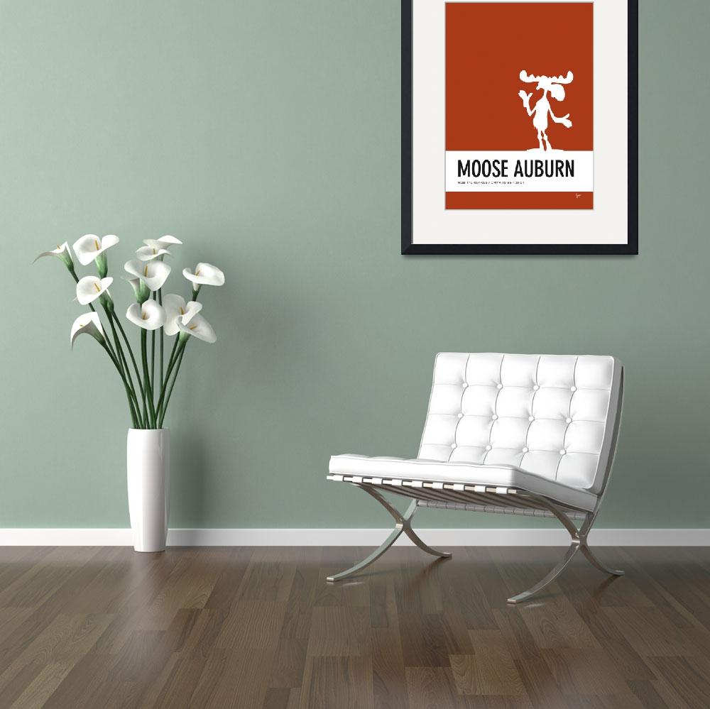 """""""No19 My Minimal Color Code poster Bullwinkle&quot  by Chungkong"""