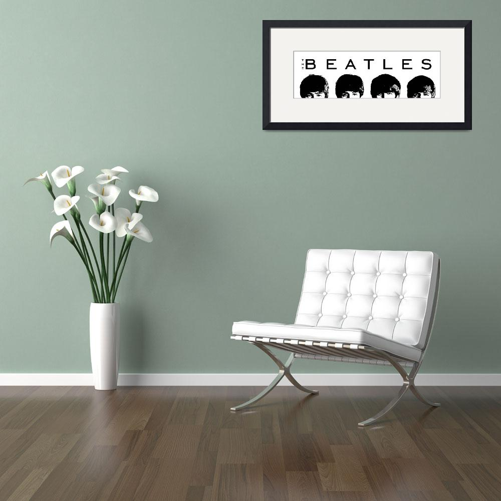 """Beatles Horizontal&quot  (2013) by Automotography"